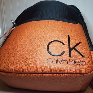 Calvin Klein School Backpack Black and Brown